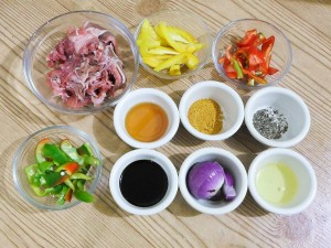 Beef Honey Curry Stir Fry 1